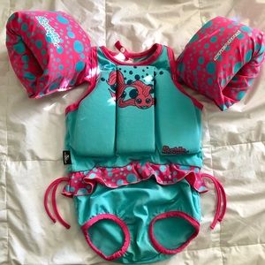 Other - Pull on swim suit floaties